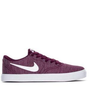 Nike SB CHECK CANVAS PREMIUM shoes size 8